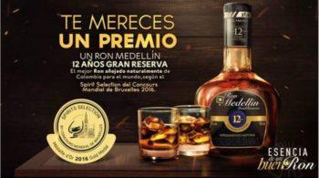 Ron Medellín 12 años Gran Reserva